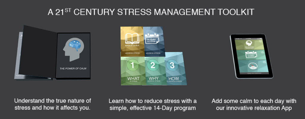 Stress management toolkit to reduce stress